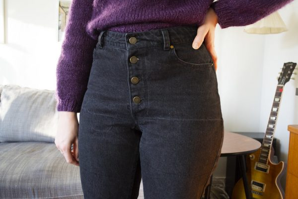Dawn jeans – cropped and flared